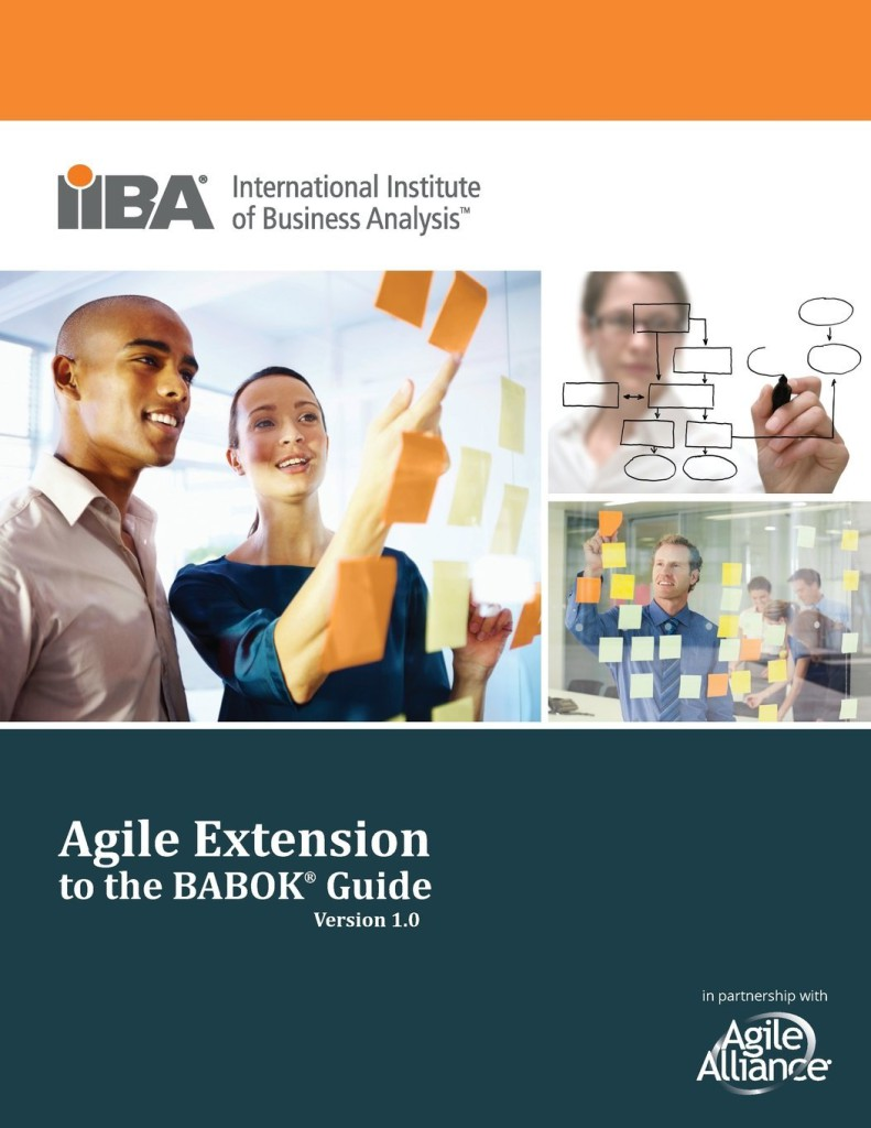 The Agile Extension to the BABoK - Cover