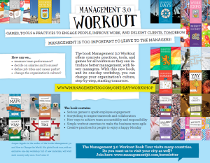 Managment Workout  Flyeraca