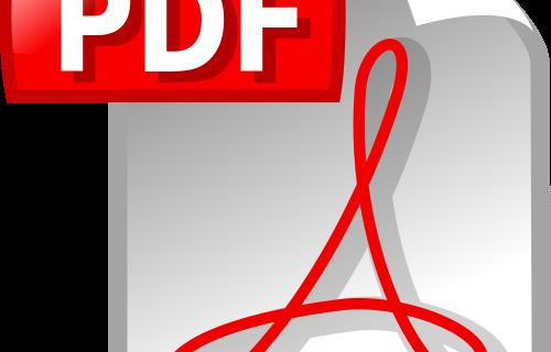Pdf File Icon - modifier pdf