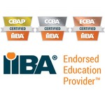 Smart Gecko - CBAP CCBA ECBA EEP - certification logos