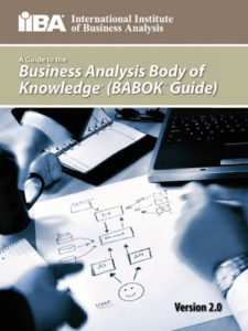 BABOK 2 - IIBA Business Analysis Body of Knowledge - Cover