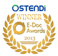 Ostendi E-Doc Award 2013 - Emblem