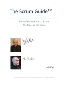 The Scrum Guide 2016