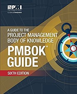 PMBOK Version 6 - Cover