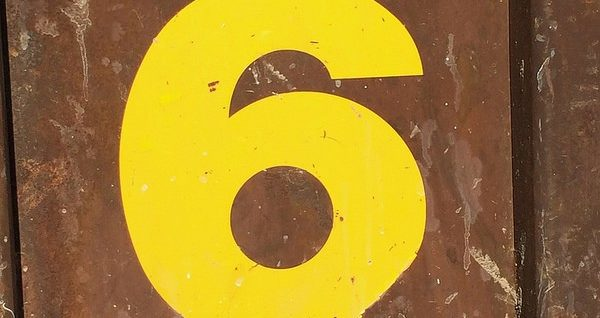 PMBOK version 6 - Image chiffre six