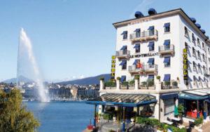 Hotel Monbrillant Genève - Smart Gecko Formation et Cours - Image avec Jet d'Eau