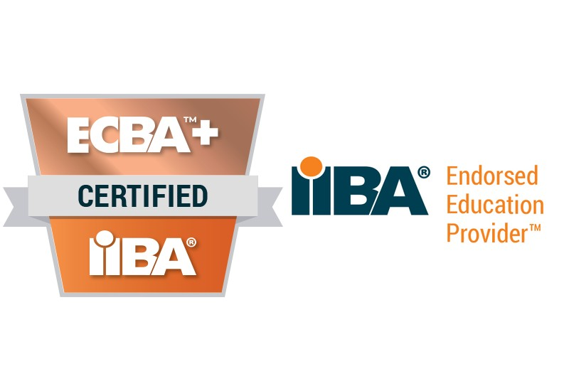 IIBA ECBAplus EEP - badge and logo