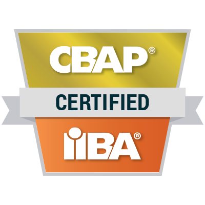 IIBA CBAP - badge