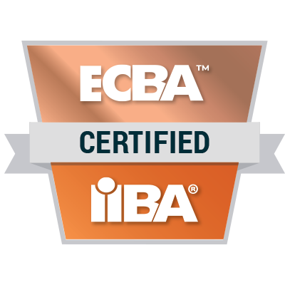 IIBA ECBA - badge
