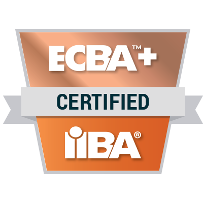 IIBA ECBAplus - badge