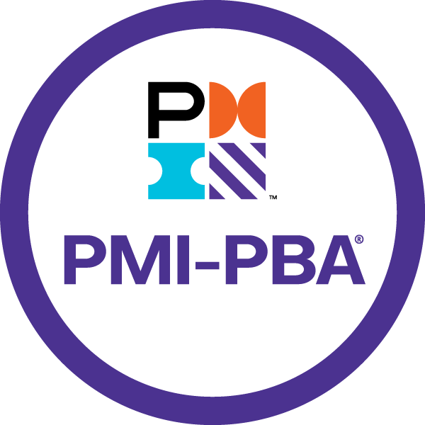 PMI-PBA - Certification badge