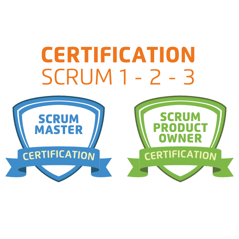 Formation Scrum Master et Scrum Product Owner